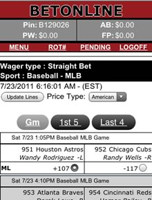 how to place bets online bovada sportsbook app