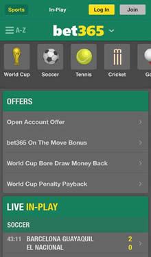 Bet365 for Canadian Sports
