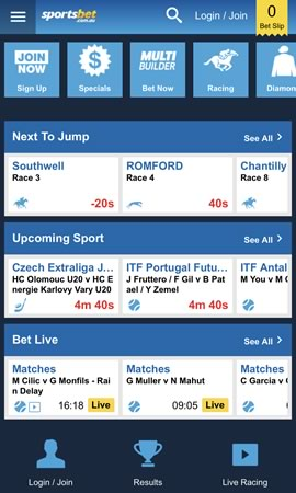 0a5a2325b SportsBet Australian App Review - Sports Betting Apps